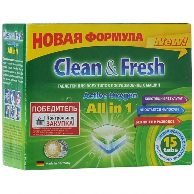 Clean & Fresh All in 1