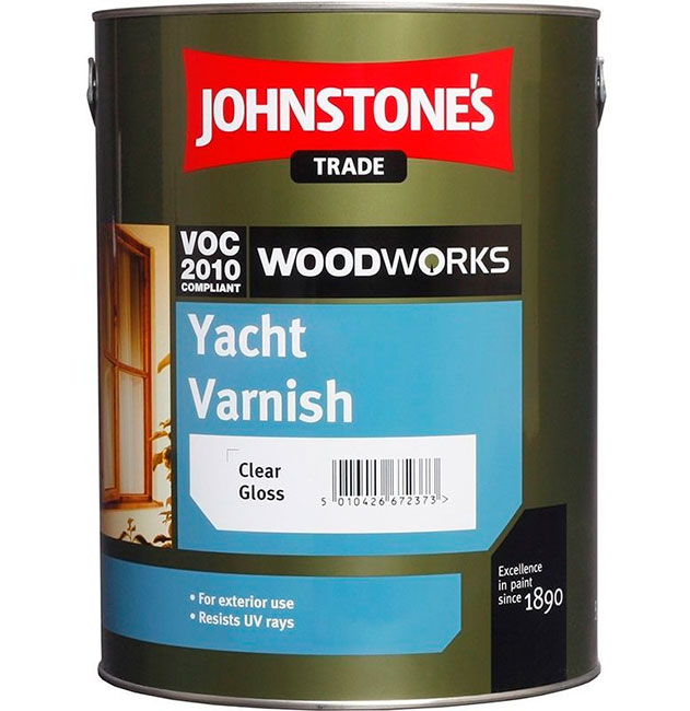 Johnstones Yacht Varnish