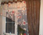 Легкие шторы для кухни фото – новинки дизайна занавесок и тюлей в пол. Как завязать современные красивые кухонные шторы большой длины?
