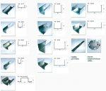 Потолочный профиль для гипсокартона размеры – Комплектующие для гипсокартона: гкл и монтаж профиля, расчет фурнитуры крепления на стены и потолок, каркас кнауф