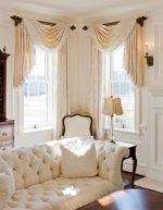 Шторы на два окна фото – шторы в зал и гостиную, дизайн занавесок на кухню-столовую, студию и спальню, модели на два окна в одной комнате